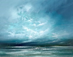 Turbulent Skies IV by Philip Raskin -  sized 19x15 inches. Available from Whitewall Galleries